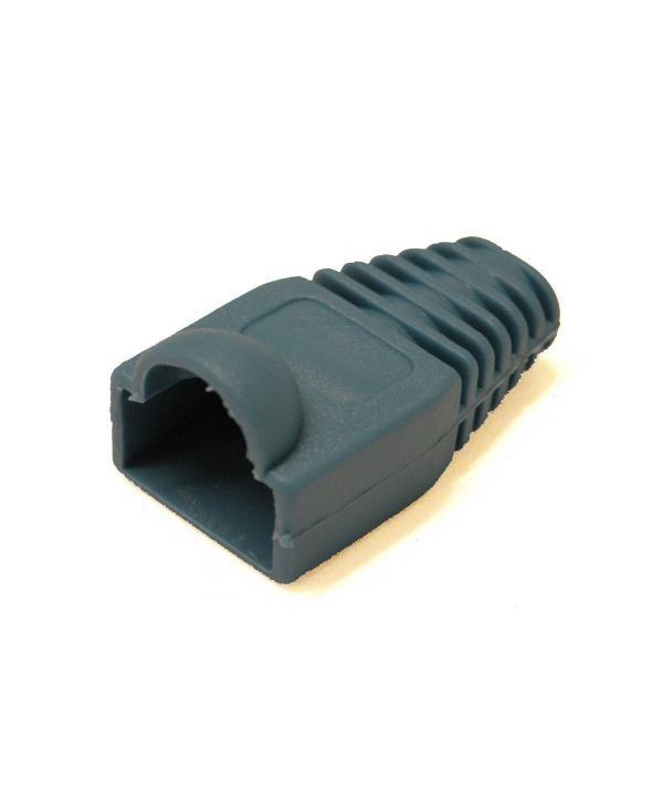 PROTECTOR PVC RJ45 AZUL