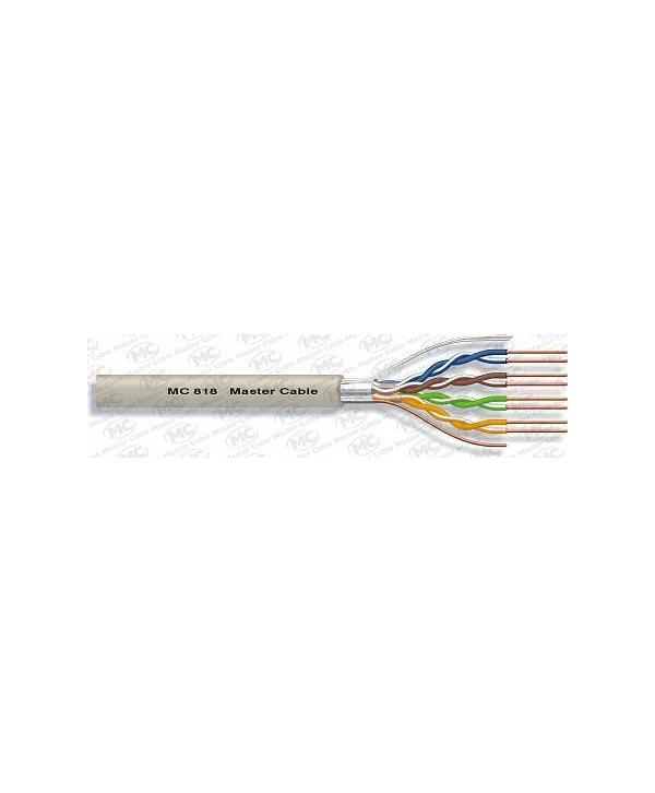 CABLE FTP CAT.5e RIGIDO 100Mhz 4x2x24AWG Ø5,8mm