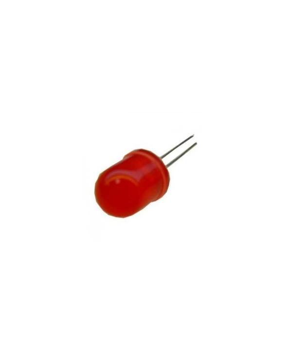 LED 10mm ROJO 2-2,4vdc 20mA