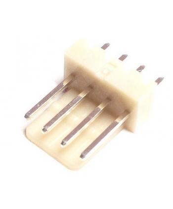 CONECTOR POSTE MACHO RECTO 4 PINES 2,54mm