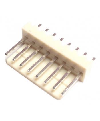 CONECTOR POSTE MACHO RECTO 8 PINES 2,54mm