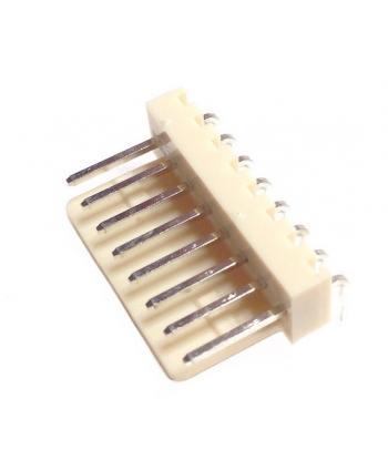 CONECTOR POSTE MACHO ACODADO 8 PINES 2,54mm