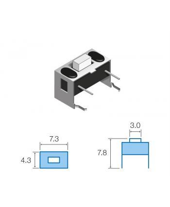 MICROPULSADOR HORIZONTAL SW059