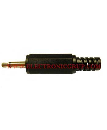 CONECTOR JACK MONO 3,5mm MACHO