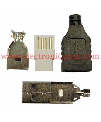 CONECTOR USB A MACHO