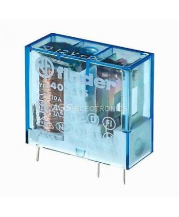 RELE 12VDC 1C 10A 5mm...