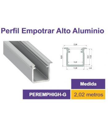 PERFIL ALUMINIO 2m 22x18mm...