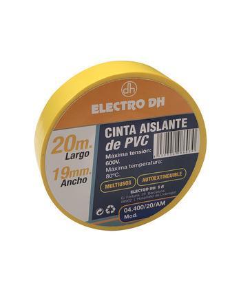 CINTA AISLANTE AMARILLA PVC...